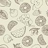 Nahtlose Früchte Hintergrund