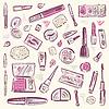 Cosmetics. Make-up Set