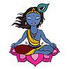 Hindu-Gott Krishna