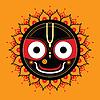 Jagannath. Indische Gott des Universums