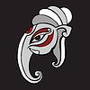 Векторный клипарт: Слон глава .. Ганеша