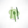 Koch-und Küchen Set Symbol