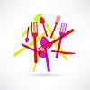 chaotische Küchensets Symbol
