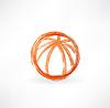 Баскетбольный мяч значок гранж | Векторный клипарт