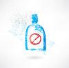 Keine Getränke Grunge-Ikone