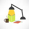 Studieren mit Lampe