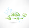 Öko-Auto-Grunge-Ikone