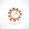 Tamburin Grunge-Ikone