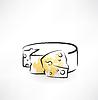 Käse-Grunge-Ikone