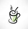 Tasse Tee Grunge-Ikone