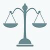 Весы значок | Векторный клипарт