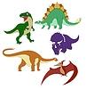 ID 4202888 | Dinosaurier | Stock Vektorgrafik | CLIPARTO
