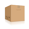 Brown Box | Stock Vektrografik