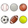 Ball-Symbole | Stock Vektrografik