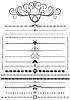 Kolekcja dekoracyjne szczotkami i kaligrafii Orna | Stock Vector Graphics