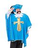 ID 4099999 | Musketier in türkis blaue Uniform | Foto mit hoher Auflösung | CLIPARTO