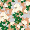 Floral bezszwowe tło z róż, mody Beautifu | Stock Vector Graphics