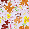 Autumn,leafs - seamless pattern | Stock Vector Graphics