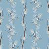 Красивая весенняя бесшовные модели с тюльпанами | Векторный клипарт