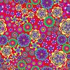 Szwu wzór kwiatowy- | Stock Vector Graphics