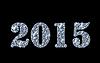 Векторный клипарт: Днем алмазов новый год 2015 открытки. вектор иллю