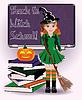 Zurück zu Hexenschule. Nette Hexe und Kürbis Bücher
