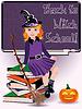 Zurück zu Hexenschule. Kleine Hexe und Bücher