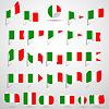 Flaggen von Italien