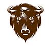 Büffel-Kopf