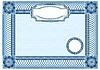 Negocio de fondo, los elementos ornamentales de líneas entrecruzadas | Ilustración vectorial