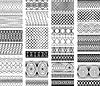 Zestaw klasycznych środowisk, Ornament ozdobne | Stock Vector Graphics