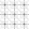 Weiß mit grauen geometrischen Ornament net seamless | Stock Vektrografik