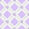 대각선 보라색 체크 사각형 패턴 | Stock Vector Graphics