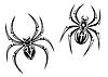 Danger Spinnen | Stock Vektrografik
