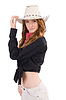 Woman cowgirl | Stock Foto
