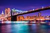 ID 4330728 | Brooklyn bridge at night in New York | Foto stockowe wysokiej rozdzielczości | KLIPARTO