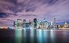 ID 4349228 | Night panorama of Manhattan in New York, USA | Foto stockowe wysokiej rozdzielczości | KLIPARTO