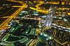 ID 4263178 | Adres hotelu w nocy w centrum dzielnicy Dubaju | Foto stockowe wysokiej rozdzielczości | KLIPARTO
