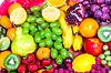 신선한 과일의 큰 그룹 | Stock Foto