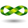 ID 4129517 | Zielony symbol nieskończoności | Klipart wektorowy | KLIPARTO