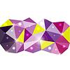 Triangle Hintergrund. für Ihre Business-Präsentation
