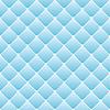 Abstrakt Polster auf blauem Hintergrund