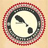 Vintage-Label-Aufkleber Karten von St. Kitts und Nevis