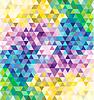 Bunte Mosaik Hintergrund | Stock Vektrografik