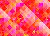 Abstrakter geometrischen Hintergrund mit roten und lila | Stock Vektrografik