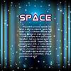 Raum Hintergrund mit aufgehellten Flur