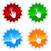 Hand-Cursor-Symbole