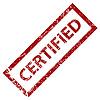 Grunge Stempel zertifiziert | Stock Vektrografik