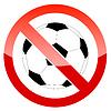 Registrieren Verbot Fußball