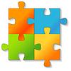 Jigsaw Puzzle. | Stock Vektrografik